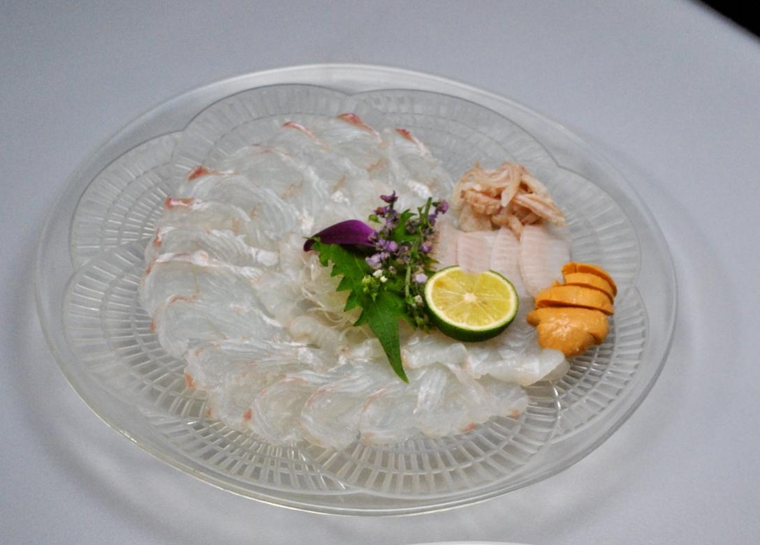 Fluke sashimi.....